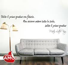 wall decal small wall decals thousands pictures of wall gradino con fiducia u0026 39 u0026 39 adesivo da parete vinyl wall stickers decals