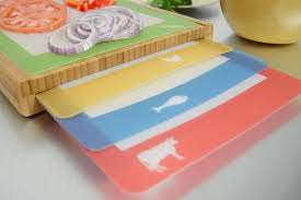 cool cutting boards casabella chop u0027n prep bamboo cutting board set with 4 silicone cut