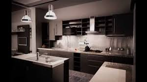 dark cabinet kitchen designs and pictures made of various wood