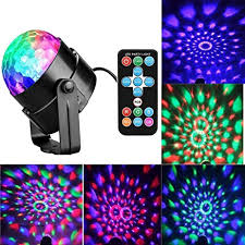 sound activated dj lights amazon com led disco ball party lights with remote control dj