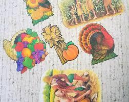 vintage thanksgiving decorations etsy