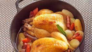 cuisiner le coquelet recette coquelet en cocotte façon paysanne facile pour 4 personnes