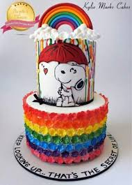 snoopy cakes cakes brown and the