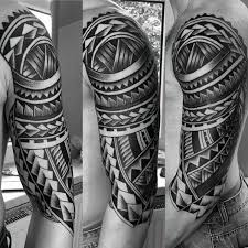 50 polynesian half sleeve designs for tribal ideas