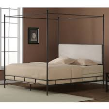 canopy beds fastfurnishings com king size metal bed cream color