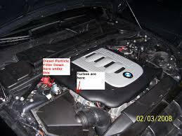 bmw diesel particulate filter regeneration smell