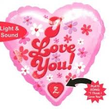 singing balloon i you singing balloon gift delivery s day i
