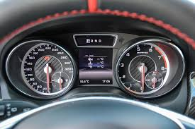 mercedes digital dashboard 2015 mercedes benz cla 45 amg shooting brake first drive review