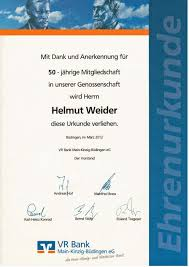 Vr Bank Bad Orb Gelnhausen Eg Helmut Weider Nidderau Ostheim