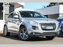 peugeot 4x4 models peugeot 4wd for sale carsguide