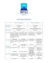 wasli 2015 program and abstracts by wasli publications issuu