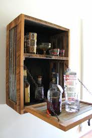 diy liquor cabinet ideas rustic hanging liquor cabinet murphy bar wall bar wine rack
