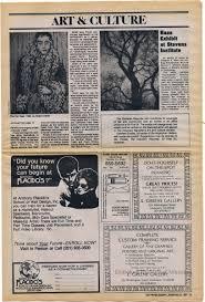 newspaper the hoboken reporter vol 1 no 1 sept 21 1983