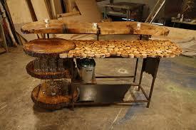 Live Edge Bar Table Custom Furniture Paul Lafrance Design