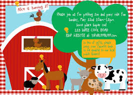 2nd Birthday Invitation Card Petting Zoo Farm Birthday Invitation Diy By Wickedcraftydesigns