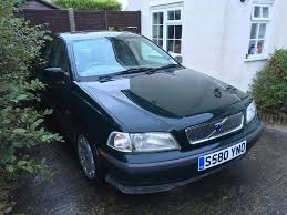 volvo s40 1998 1 8l manual petrol in racing green in brentwood