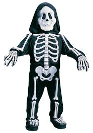 skeleton costume child white skeleton costume