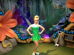 tinker bell moves town square theater walt disney
