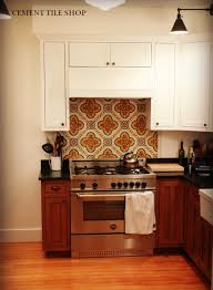 Kitchen Backsplashes 2014 Custom Kitchen Backsplash U2013 Berkeley Ca Cement Tile Shop Blog