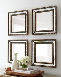 beaded square home decor wall mirror view mirror guanding