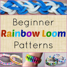 10 beginner rainbow loom patterns video tutorials