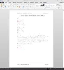 Payment Reminder Letter To Client Options Exercise Letter Template