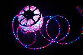 color rope lights solidaria garden