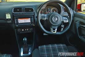 volkswagen polo 2015 interior 2013 volkswagen polo gti review video performancedrive