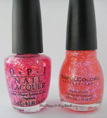 opi i lily love you sinful colors pink ansen comparison be