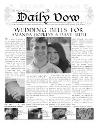 newspaper wedding program newspaper wedding program template best business template