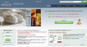 easy wedding registry access easy wishlist baby gift registry wedding registry