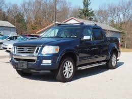 Ford Explorer Running Boards - used 2007 ford explorer sport trac limited pickup for sale 6484