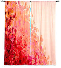 coral color coral colored curtains bedroom curtains coral and green shower