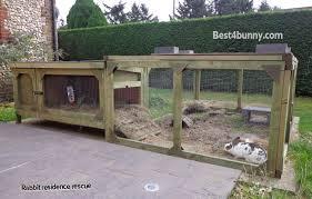 4ft Rabbit Hutch With Run Rabbit Accommodation Housing Ideas For Bunny Rabbits Best 4 Bunny