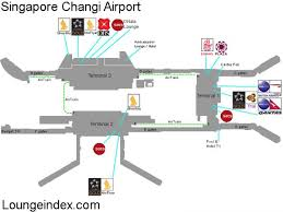 Nashville Airport Map Singapore Airport Map Map Of Singapore Airport Republic Of