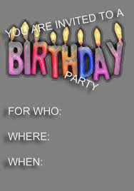 21st Birthday Invitation Cards Best Compilation Of Free Birthday Party Invitations Templates