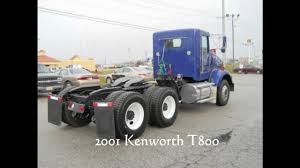 kenworth t700 for sale canada 2001 kenworth t800 tandem axle day cab for sale in ohio video