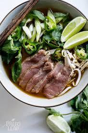 pho cuisine beef pho paleo leap