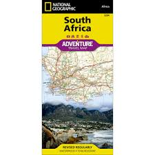 Map South Africa South Africa Adventure Map National Geographic Store
