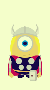 halloween pastel background funny thor minion avengers iphone 6 plus wallpaper hd 2014