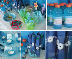 ocean party ideas fish party ideas at birthday in a box