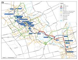 Route Map by System Rapid Transit