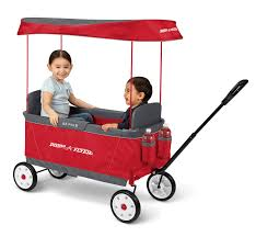 Radio Flyer Wagons Used How To Tell Age Ultimate Ez Fold Wagon Folding Wagon With Canopy Radio Flyer
