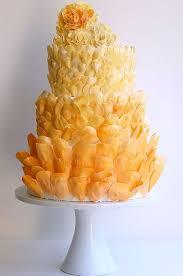 Wedding Cake Ingredients List Best 25 Orange Petal Wedding Cakes Ideas On Pinterest Pastel