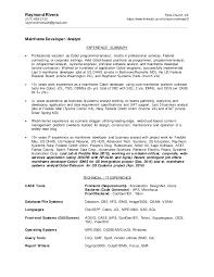 Sample Resume For 2 Years Experience In Mainframe by Sas Programmer Registered Nurse Resume Templates Nursing