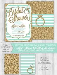 mint to be bridal shower mint bridal shower invitation mint gold glitter bridal shower