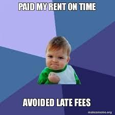 Rent Meme - market apartments aptschat rent meme