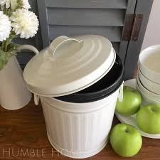 100 compost canister kitchen greenlid composter compostable compost canister kitchen white retro metal kitchen scraps bin plastic bucket liner compost