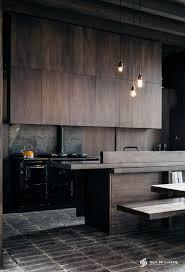 black kitchen furniture 27 moody kitchen décor ideas digsdigs