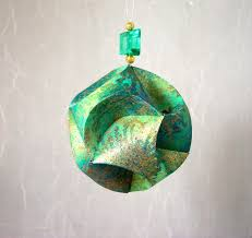 christmas craft projects paper christmas ornament by